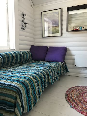 Separate bedroom w extra bed