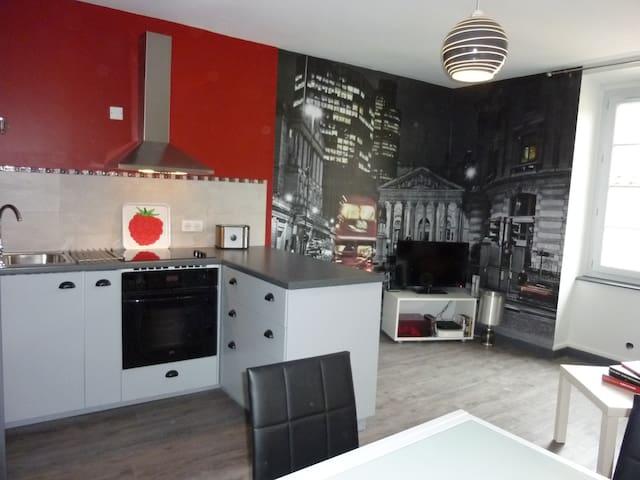Bel appartement au coeur d'Aubenas - Aubenas - Apartment