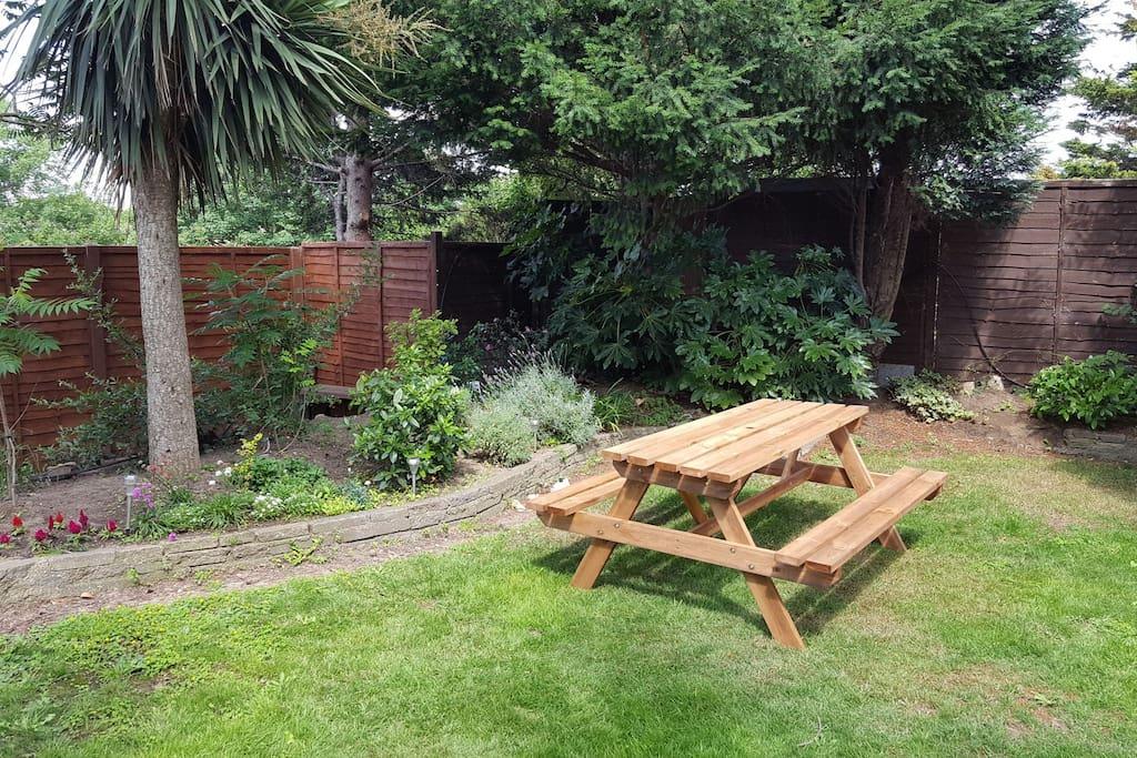 Seating in Garden