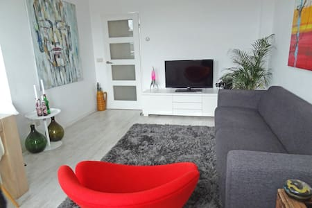 Canal view apartment with rooftop terrace! - Amsterdam