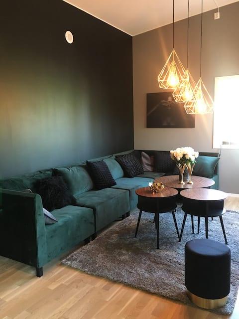Ny moderne leilighet med kort avstand til sentrum