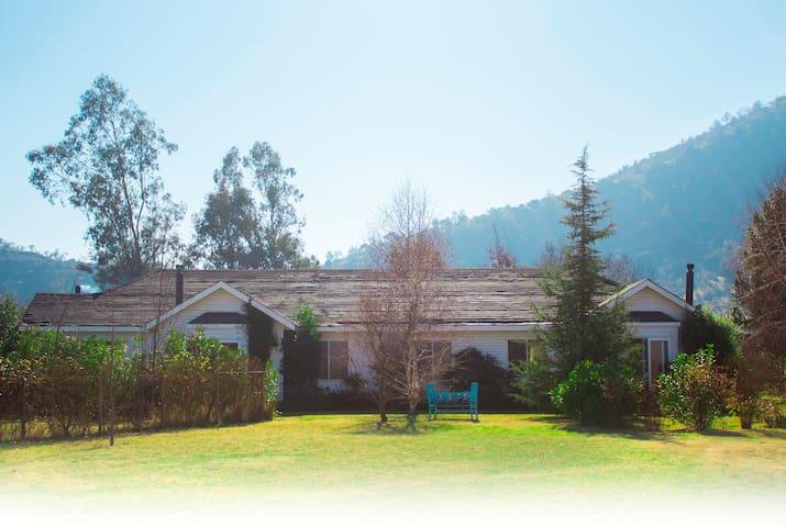 Casona campestre cálida y tranquila en Requínoa