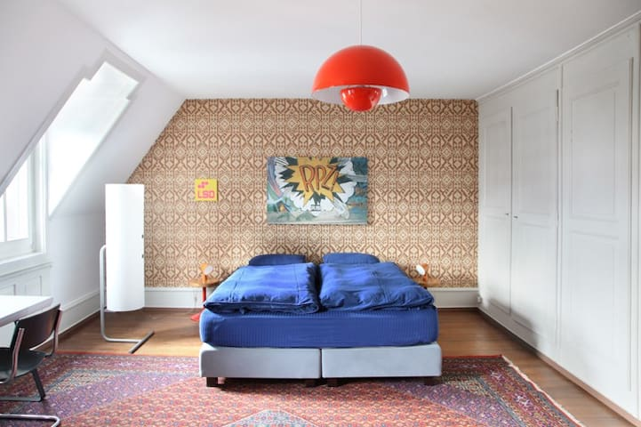 B&B Fleury's, Pop-Zimmer, 30 m2 - Bern - Bed & Breakfast