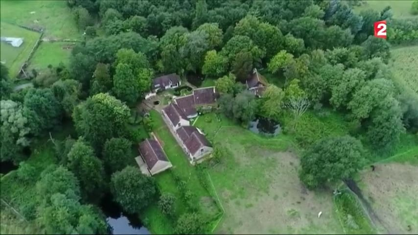 Hameau ancien, capacité 60 couchages