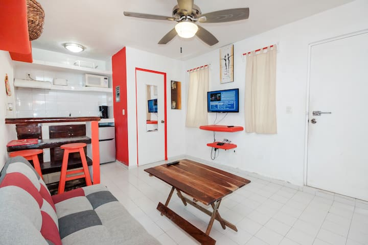 1-bedroom Apt close to 5th Ave. and Playa Mamitas
