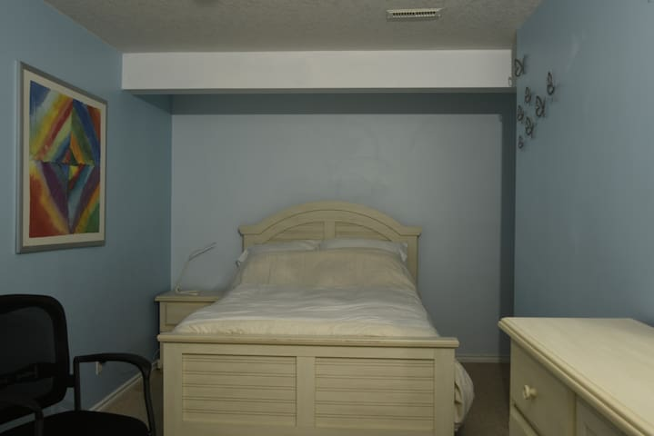 Bedroom 2- Newly Renovated Basement -Crystal Green