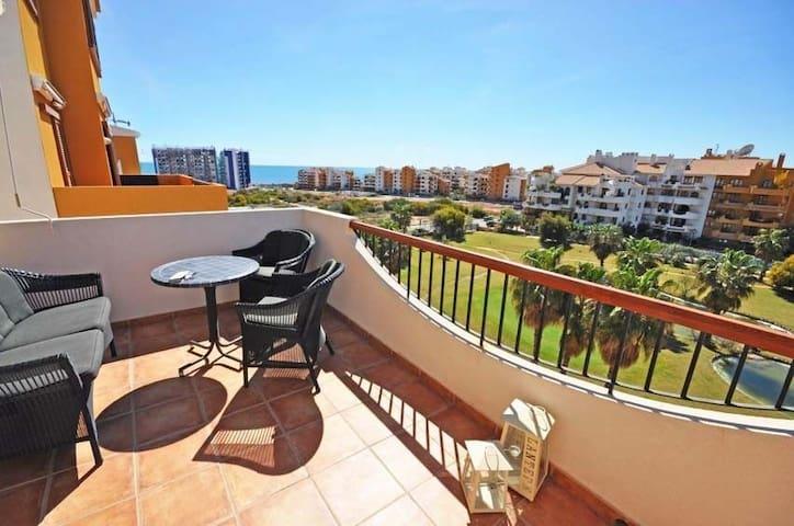 Beautiful Penthouse apartment near the beach