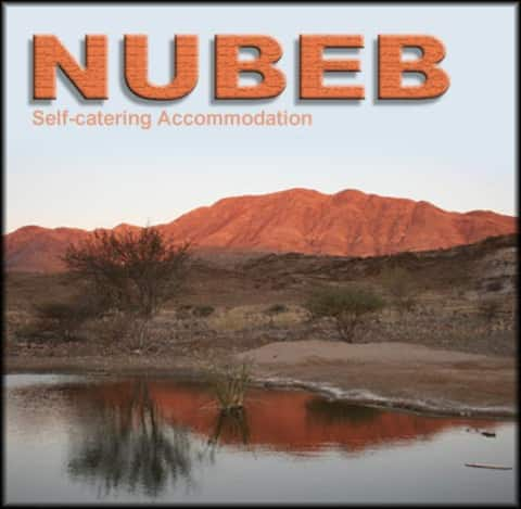 Flat at Nubeb Self-Catering. Breakfast optional.