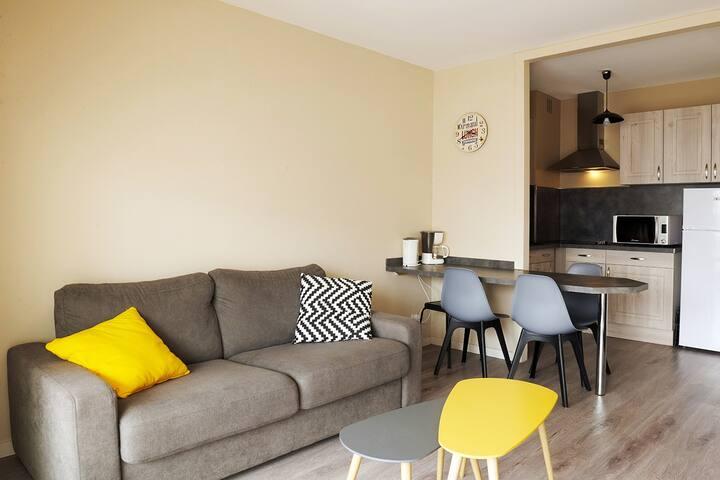 Un appartement à 200 m de la plage à Saint Jean de Monts