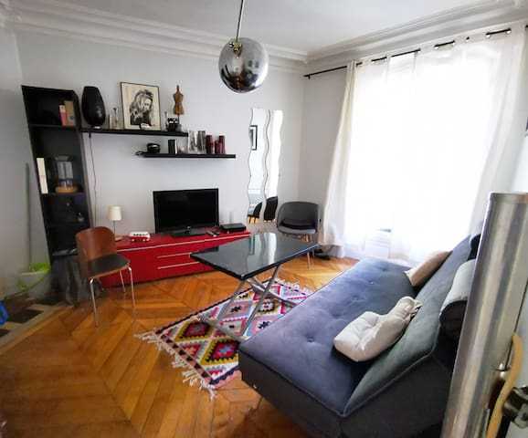 Appartement 2 pieces tres bien situé Paris 11e