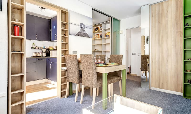 Modern studio apartment 40 m² in Luxembourg city