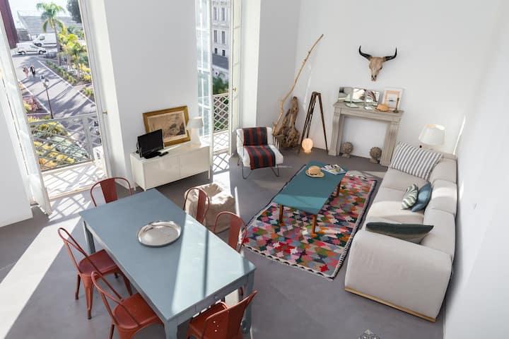 VUE MER&BALCON : Moderne et Beau Duplex