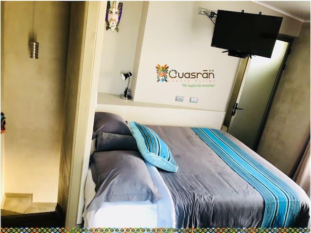 Cuasràn little room 5: Ideal para una pareja (2P)