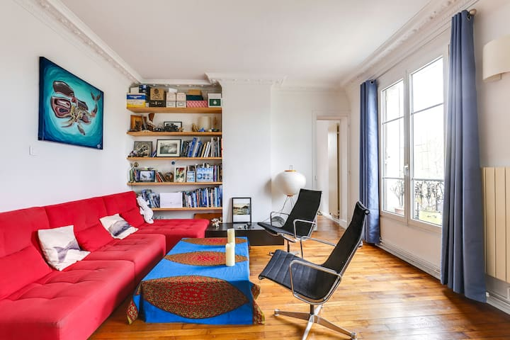 Bright and cosy appartement - Buttes Chaumont