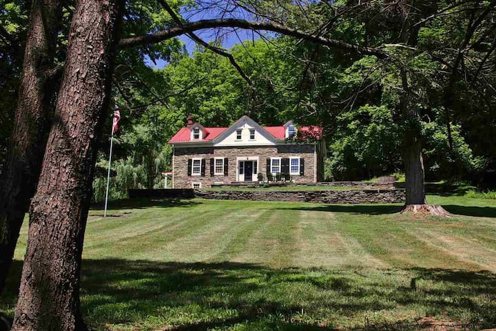 1764 Dutch Stone Farmhouse Catskills Retreat