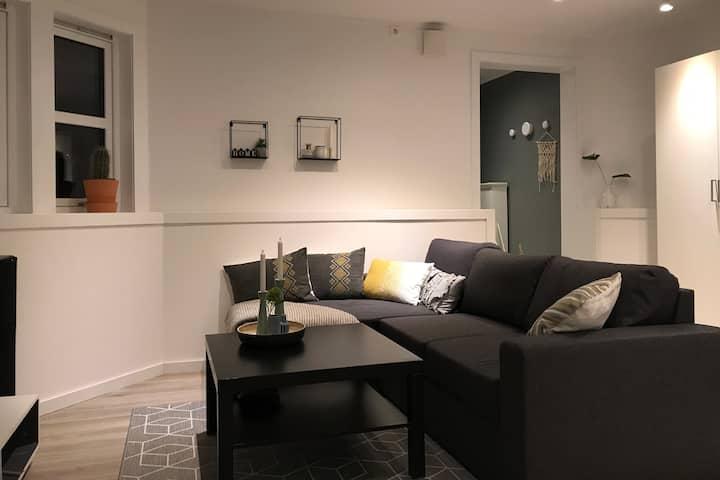 Flott, familievennlig leilighet
