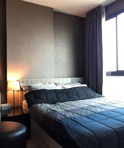Bangkok Private Room FullFac&Wifi Skytrain TopView