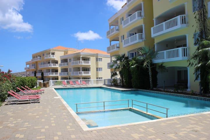 Curacao Blue Bay Golf Resort seaview The Hill Pool - Sint Michiel - Apartment