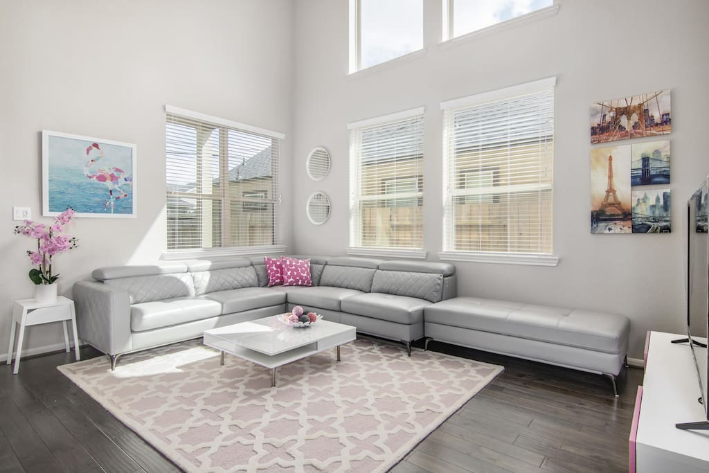 Spacious & Comfortable Living Space
