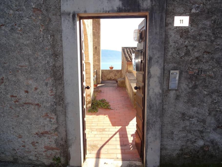 Torre Limonaia Front Door