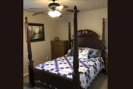 Guest Room for a stay in Edmond/Guthrie