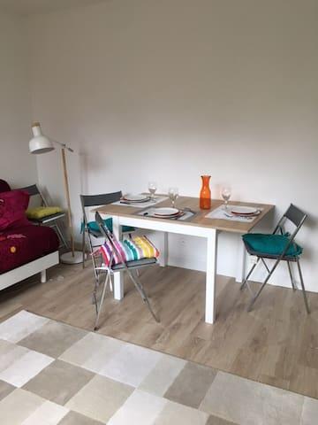 Les Closeaux, brand new flat 38m² 3 beddings