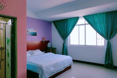 東遇-半岛公园温馨靓丽装饰大床401