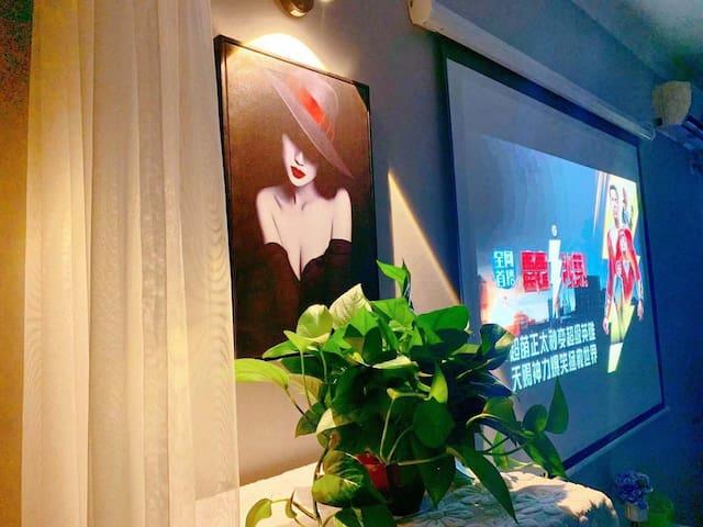[优客优家]10/中式一居室/配置厨具/万达广场、古渡驿陕西特色小吃、胡桃里音乐馆、海底捞
