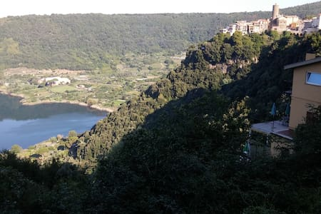 Paradise in Nemi, 30 km from Rome with great view - Nemi