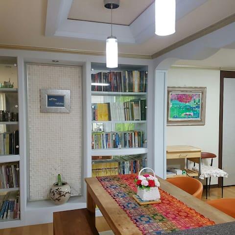 정원 테라스가 있는 아파트, 마당을 즐길 수 있는 집 - Heungdeok-gu, Cheongju - Apartament