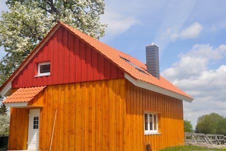Ferienhaus auf dem Lande (kleiner Reiterhof) - Illmensee