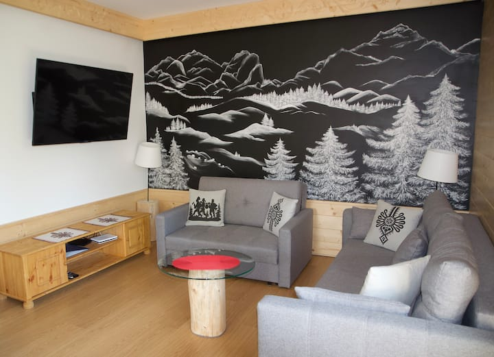 """Lux Apartament w Jaworkach """"Pod Wysoką"""""""