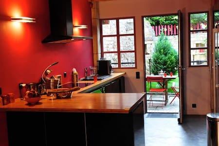 Maison calme à Bèze en Bourgogne - Bèze - 独立屋
