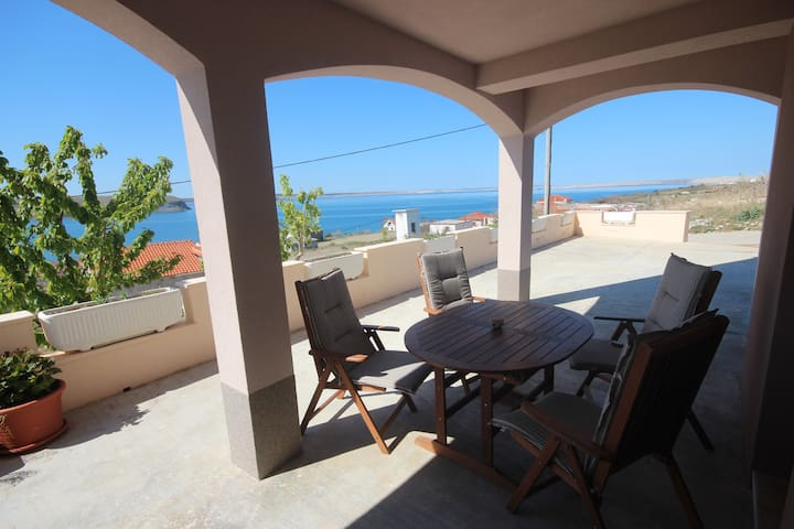 Njaco - 2Bedroom Ap.with Terrace and Sea View (A2)