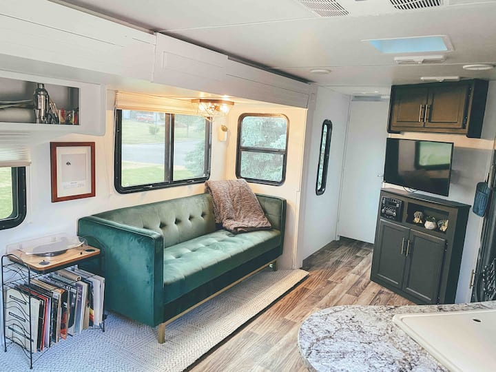 Experience Tiny Living in a fully renovated RV!