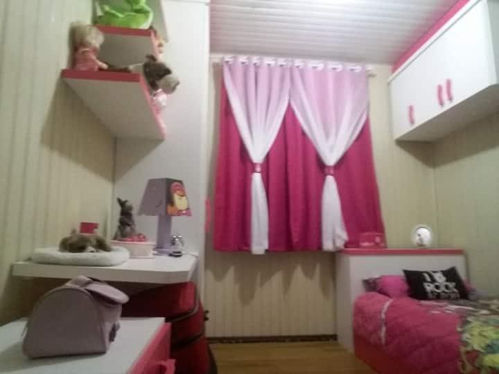Hostel Verde Vida - Quarto de solteiro