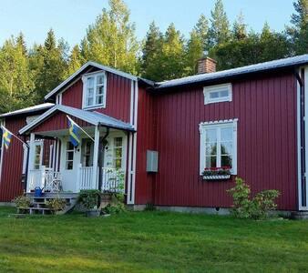 Idyllisk Västerbottens gård