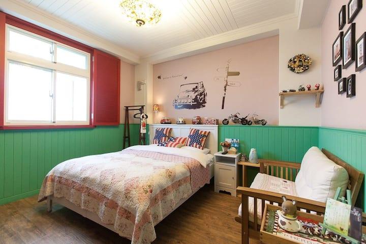 宜蘭12輕旅house ~美式鄉村雙人房