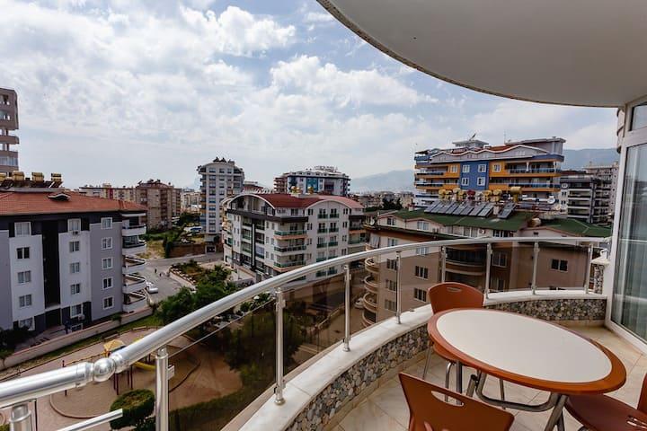 Квартира 2(3)+1 в 600 метрах от моря BmAlx