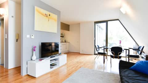Top-apartment with terrace in historic Graz-Center
