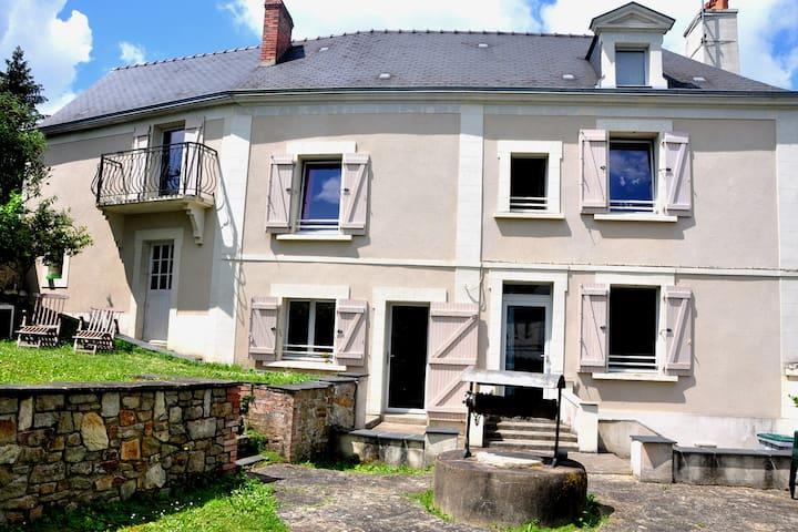 """Proche Angers, à I""""L'Escale""""sur les bords du Loir."""