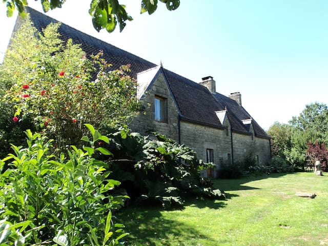 16c Manoir set within 25 hectares with pool. - Lignol - House