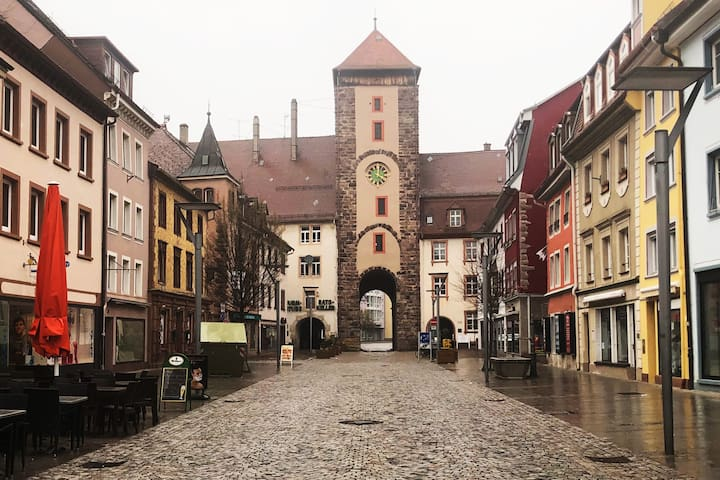 Cozy warm house in the center of the Old Town  in Villingen