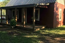 Newly updated exterior with a new screen door and windows!