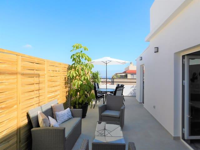 La terraza de Santa Cruz.