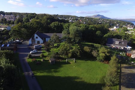 Large self-catering,private grounds, ample parking - Tobermory - Casa