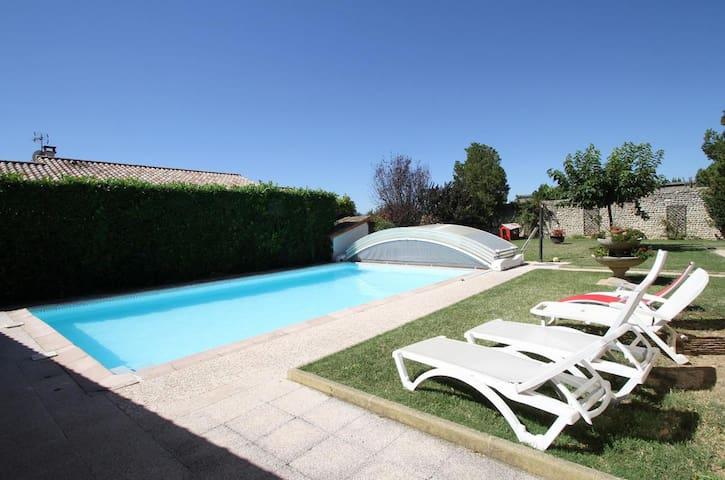 La Ferme des Denis - Chambres et piscine - Chanos-Curson - Casa de huéspedes