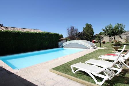 La Ferme des Denis - Chambres et piscine - Chanos-Curson - Dům pro hosty