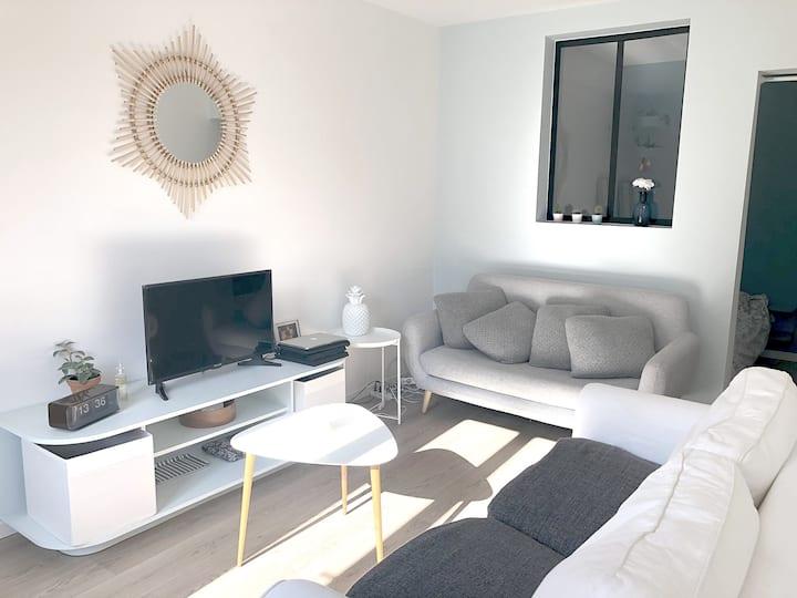 Appartement calme et lumineux, proche Montmartre