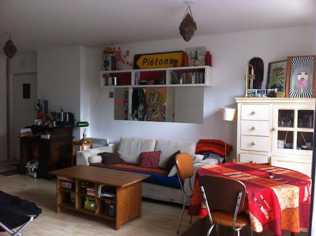 2rooms flat close Stade de France (terrace+garden) - La Courneuve - Apartamento